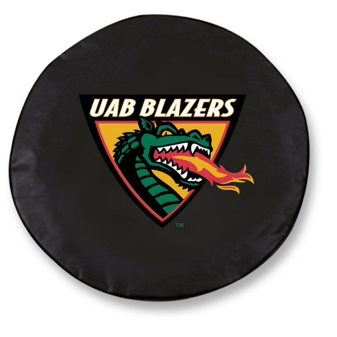 UAB Blazers HBS Black Vinyl Fitted Spare Car Tire Cover