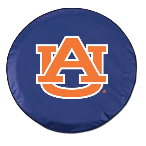 Auburn Tigers HBS Navy Vinyl Fitted Spare Car Tire Cover