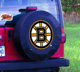 Boston Bruins HBS Black Vinyl Fitted Spare Car Tire Cover