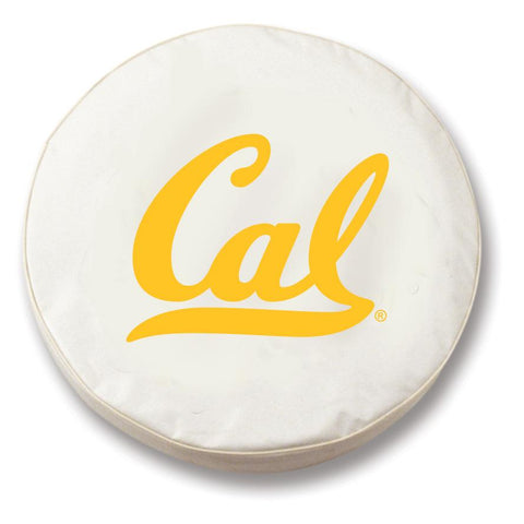 California Golden Bears HBS White Vinyl Fitted Car Tire Cover