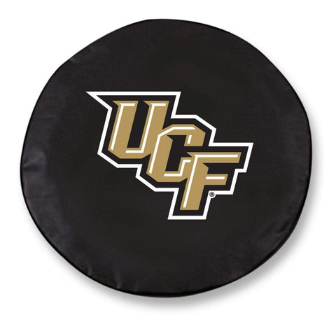 UCF Knights HBS Black Vinyl Fitted Spare Car Tire Cover
