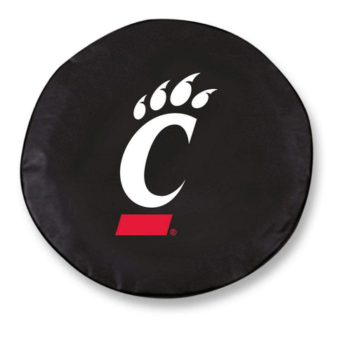 Cincinnati Bearcats HBS Black Vinyl Fitted Spare Car Tire Cover