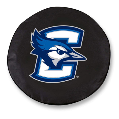Creighton Bluejays HBS Black Vinyl Fitted Spare Car Tire Cover