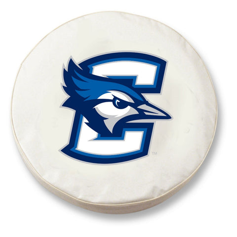 Creighton Bluejays HBS White Vinyl Fitted Spare Car Tire Cover