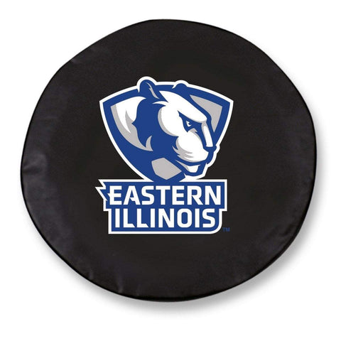 Eastern Illinois Panthers HBS Black Vinyl Fitted Car Tire Cover