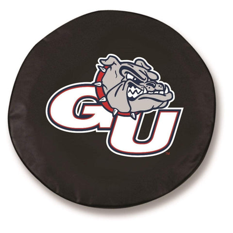 Gonzaga Bulldogs HBS Black Vinyl Fitted Spare Car Tire Cover