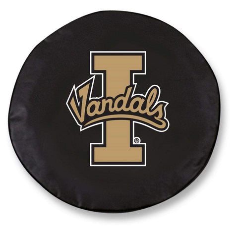 Idaho Vandals HBS Black Vinyl Fitted Spare Car Tire Cover