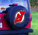 New Jersey Devils HBS Black Vinyl Fitted Spare Car Tire Cover