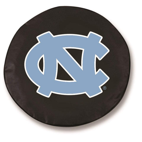 Shop North Carolina Tar Heels HBS Black Vinyl Fitted Car Tire Cover - Sporting Up