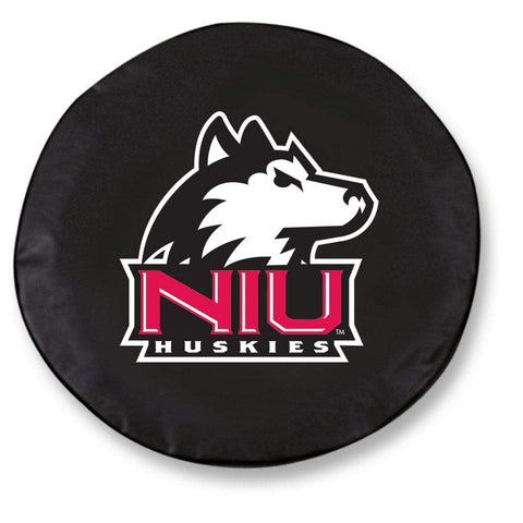 Northern Illinois Huskies HBS Black Vinyl Fitted Car Tire Cover
