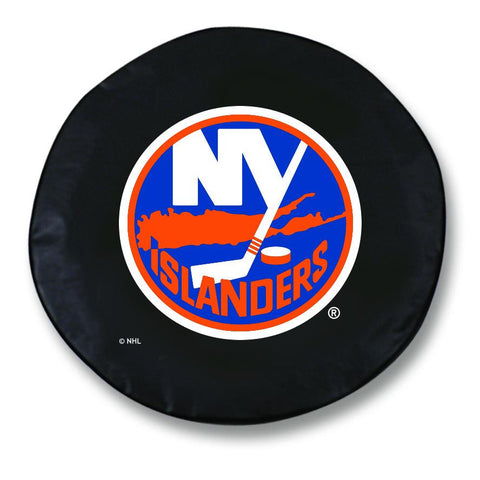 New York Islanders HBS Black Vinyl Fitted Spare Car Tire Cover