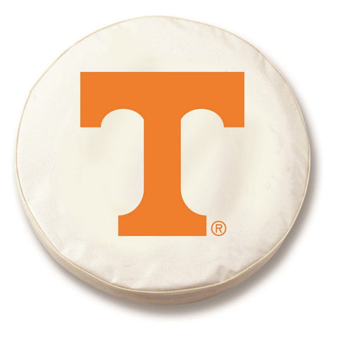 Tennessee Volunteers HBS White Vinyl Fitted Spare Car Tire Cover