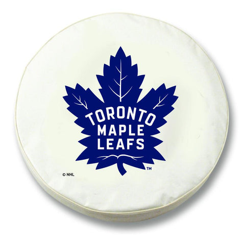 Toronto Maple Leafs HBS White Vinyl Fitted Spare Car Tire Cover