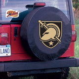 Army Black Knights HBS Black Vinyl Fitted Spare Car Tire Cover