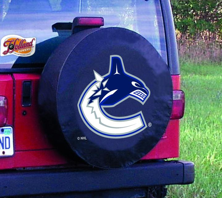 bffeed602 Vancouver Canucks HBS Neon Blue Hockey Battery Powered Wall Clock ...