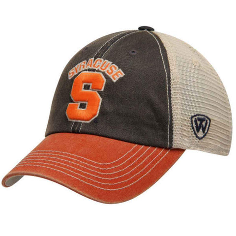 Syracuse Orange Top of the World Navy Orange Offroad Adjustable Snapback Hat Cap