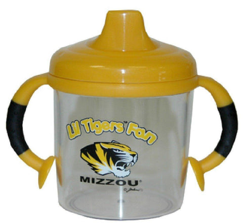 Shop Missouri Tigers NCAA Team Logo Gold Dual Handle Dripless Sippy Cups