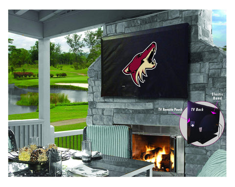 Arizona Coyotes HBS Breathable Water Resistant Vinyl TV Cover