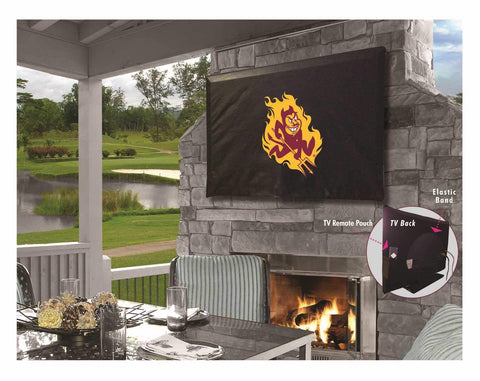 Shop Arizona State Sun Devils HBS Breathable Water Resistant Vinyl TV Cover