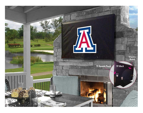 Arizona Wildcats HBS Breathable Water Resistant Vinyl TV Cover