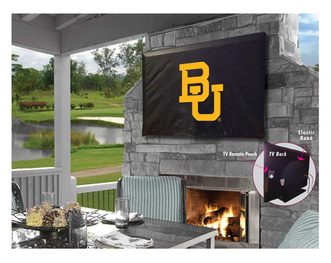 Baylor Bears HBS Breathable Water Resistant Vinyl TV Cover