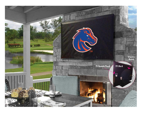 Boise State Broncos Breathable Water Resistant Vinyl TV Cover