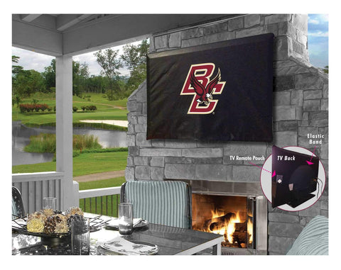 Boston College Eagles Breathable Water Resistant Vinyl TV Cover