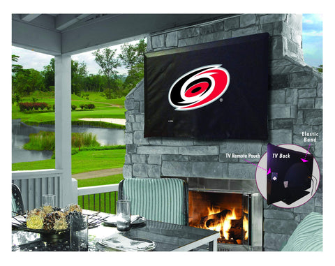 Carolina Hurricanes HBS Breathable Water Resistant Vinyl TV Cover