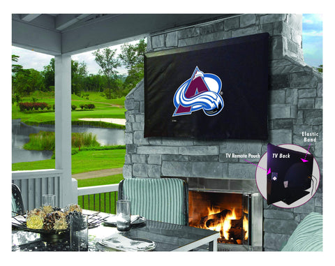 Colorado Avalanche HBS Breathable Water Resistant Vinyl TV Cover