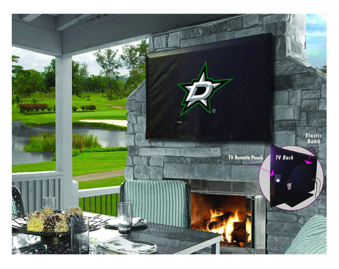Dallas Stars HBS Breathable Water Resistant Vinyl TV Cover