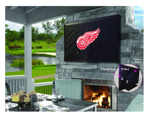 Detroit Red Wings HBS Breathable Water Resistant Vinyl TV Cover