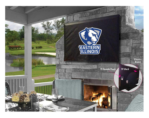 Eastern Illinois Panthers Breathable Water Resistant Vinyl TV Cover