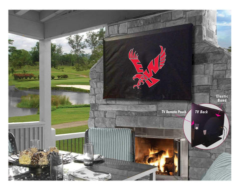 Shop Eastern Washington Eagles Breathable Water Resistant Vinyl TV Cover - Sporting Up