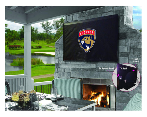 Florida Panthers HBS Breathable Water Resistant Vinyl TV Cover