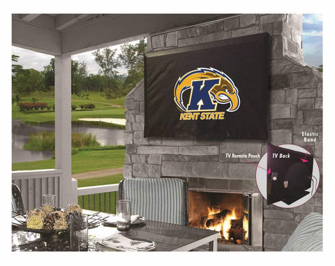 Kent State Golden Flashes Breathable Water Resistant Vinyl TV Cover - Sporting Up