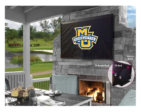 Marquette Golden Eagles Breathable Water Resistant Vinyl TV Cover