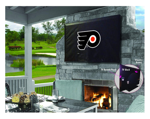 Philadelphia Flyers Breathable Water Resistant Vinyl TV Cover
