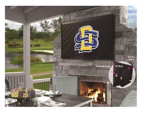 South Dakota State Jackrabbits Water Resistant Vinyl TV Cover