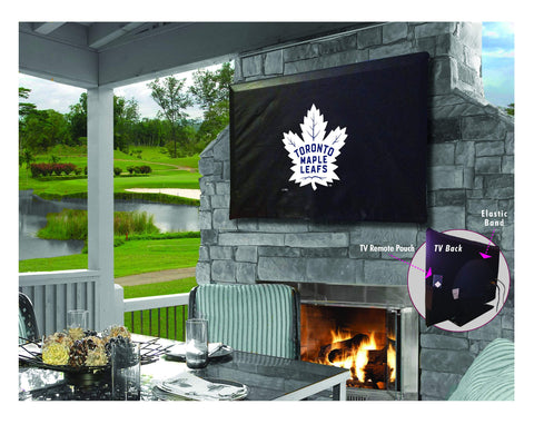 Toronto Maple Leafs Breathable Water Resistant Vinyl TV Cover