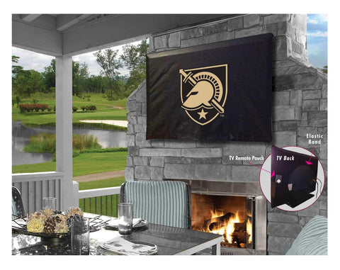 Shop Army Black Knights HBS Black Breathable Water Resistant Vinyl TV Cover