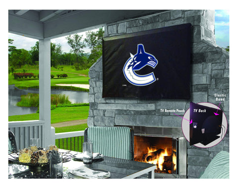 Vancouver Canucks HBS Breathable Water Resistant Vinyl TV Cover