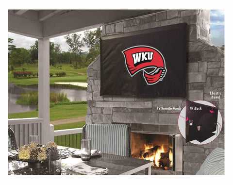 Western Kentucky Hilltoppers Breathable Water Resistant Vinyl TV Cover