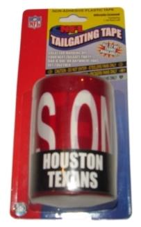 Houston Texans NFL Caution Tailgating Tape (50ft)