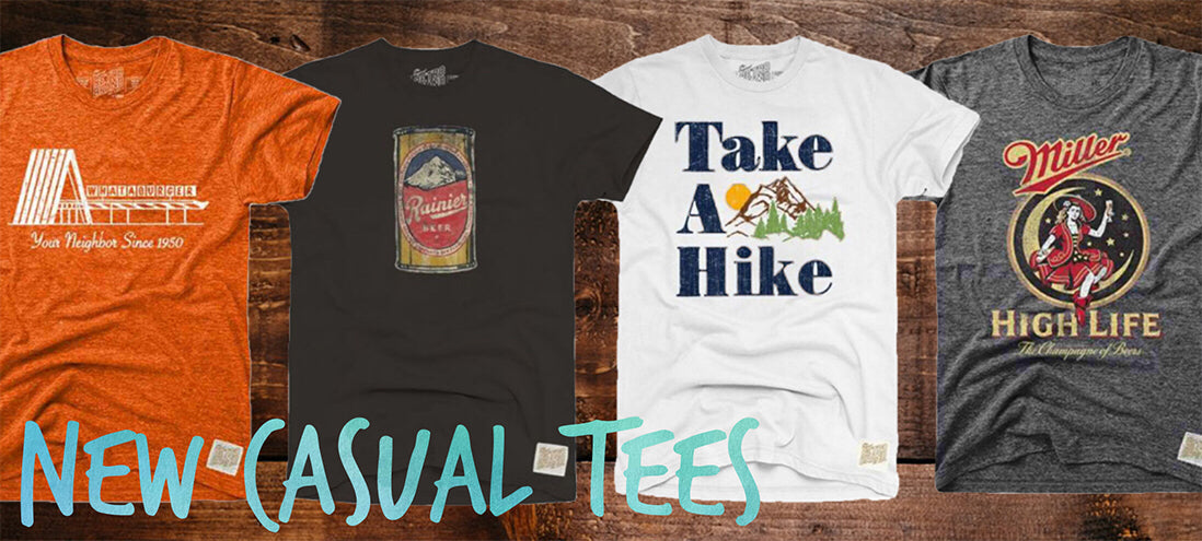 Retro Brand Casual Tees
