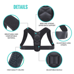 Adjustable Unisex Posture Corrector High Quality Material