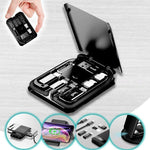 Multi-Function Universal, Wireless Charger, Phone Holder, Card Reader.