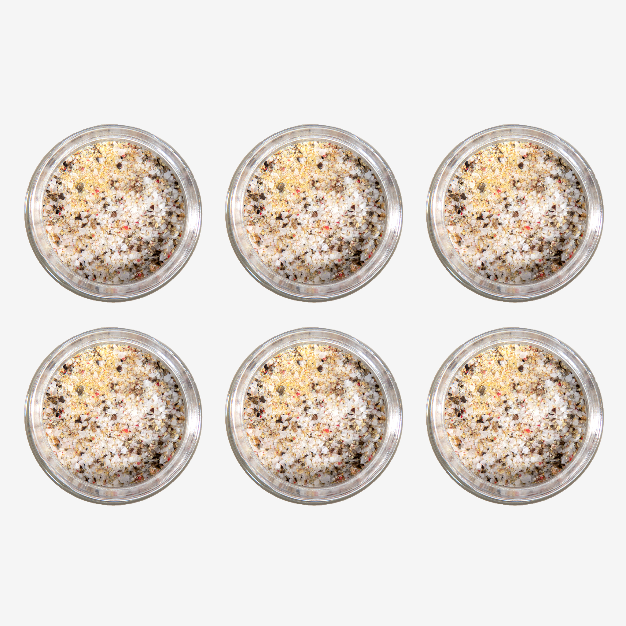 Sprinkle More, Save More! Six-Pack of 6 oz. Jars