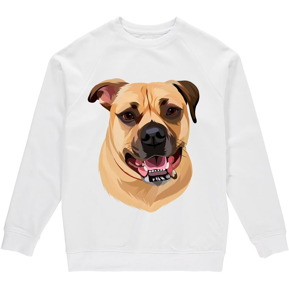 Bespoke illustrated sweatshirt - lovepaw