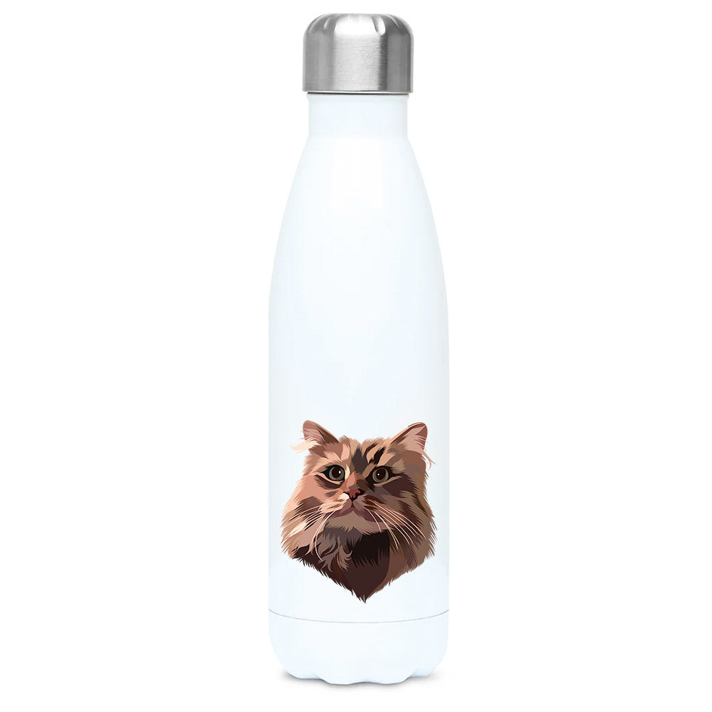 Bespoke illustrated pet water bottle - lovepaw