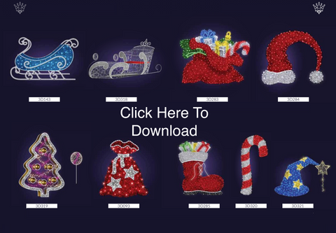 Image of VisiDream European Commercial Christmas page